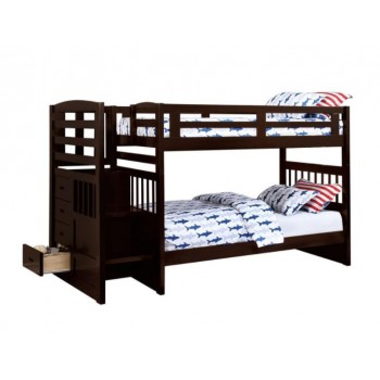 Dublin Twin Bunkbed with Storage Steps