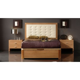 Alicante 515 Cherry Queen Storage Bed