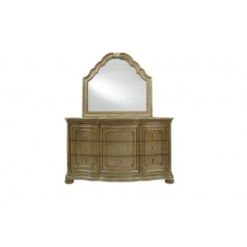 Bordeaux Dresser and Mirror