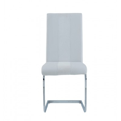 Spring White Dining Chair