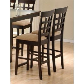 Chestnut Counter Height Chairs