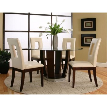 "EMERSON 54"" 5PC DINING SET"