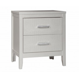Olivet Two Drawer Nightstand