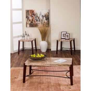 Miles 3-Piece Coffee and End Tables Set