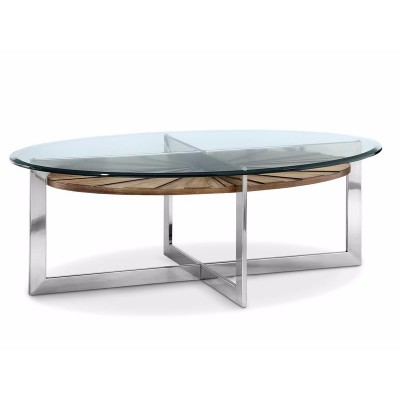 Rialto Oval Cocktail Table