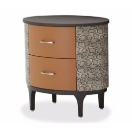 21 Cosmopolitan Orange Bedroom Collection - Bachelor's Chest
