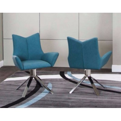 Veloce Turquoise Chair