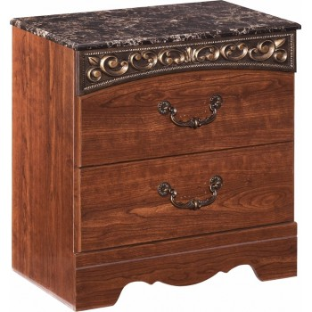 Fairbrooks Estate Two Drawer Night Stand