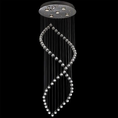 Infinity Contemporary 5-Light Infinity Crystal Chandelier